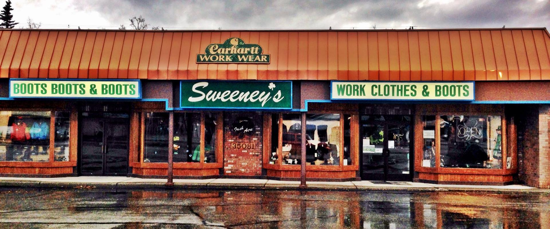 Sweeney's Clothing