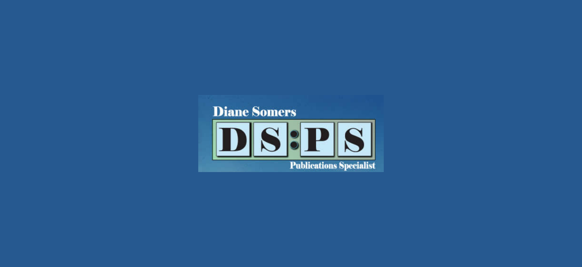 DS:PS Diane Somers Publication Specialist