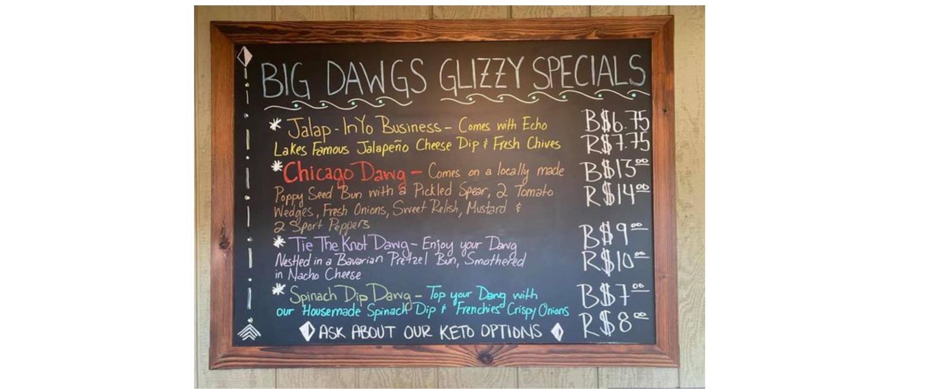 Big Dawgs Hot Dog Stand
