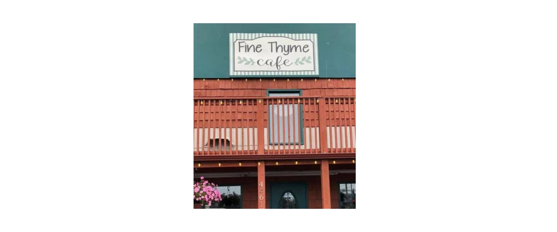 Fine Thyme Café