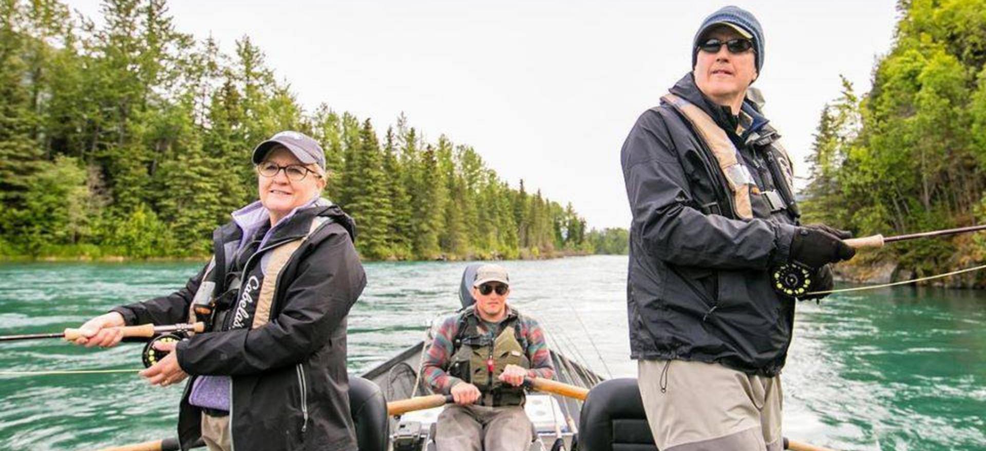 Kenai Riverside Fishing